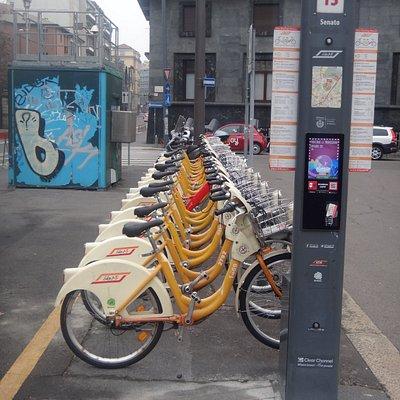 """Стоянка велосипедов """"Bike Mi"""""""