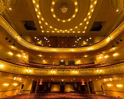 Auditorium as seen from the stage