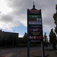 Central Retail Park, Wrexham