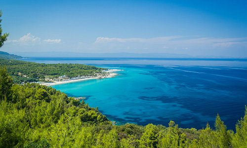 The crystal clear waters are ideal for snorkeling and the beautiful forest for walking.