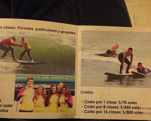 Pepe surf school Lima Peru Sur America