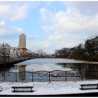 Senshu Park besides Atorion Building