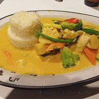 Ein leckeres Reisgericht bei Bok and Cocos