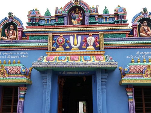 Main Entrance to the temple.