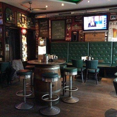 A 'proper pub' on the inside.