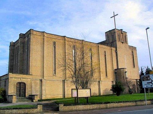 Exterior shot of St Barnabas