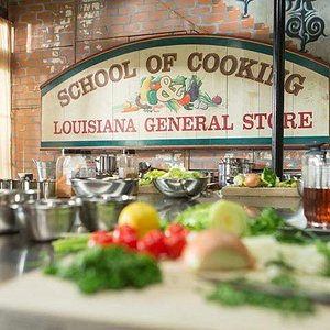 Welcome to the Fun, Food & Folklore of the New Orleans School of Cooking.