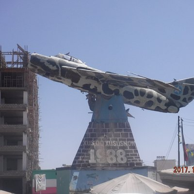MIG17 shot down by the defenders of Hargeisa!