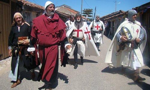 4 - As Salinas e os Templários em 1177.