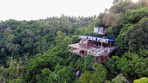 Lamai Viewpoint at the Peak of Mount Laem Yai