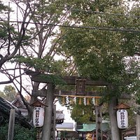 The Entrance of Miyukimori Tenjingu Shrine