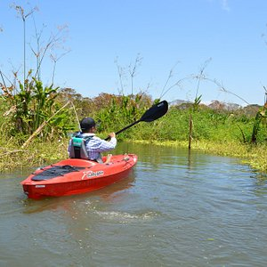 Kayaking on Rio Istiam.