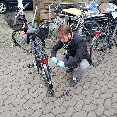 Fixing my bike