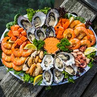 Seafood platters made fresh to order