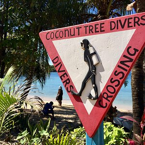 Divers Crossing Sign