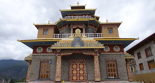 Awe-inspiring private temple