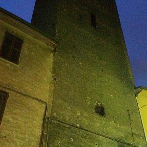 torre del XII° sec. Unica rimasta a Ferrara