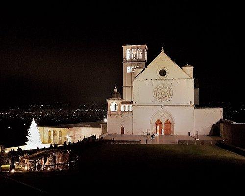 Basilica superiore di Assisi a Natale