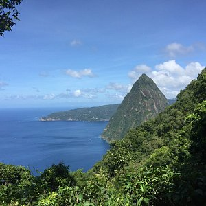 little piton I'm on the big one going up!