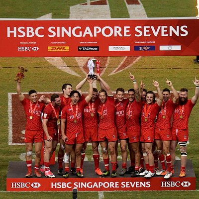 Canada beats the US in the final at the HSBC Singapore Rugby Sevens 2017
