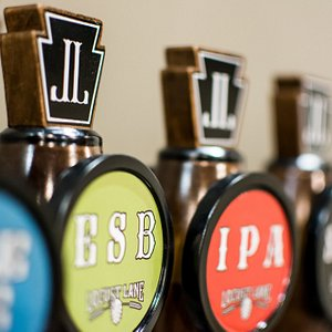 Tap handle shot.  We have 10 taps along with wine, cider and mead offerings.