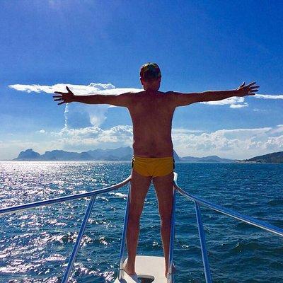 Navegar desperta uma sensação de liberdade indescritível