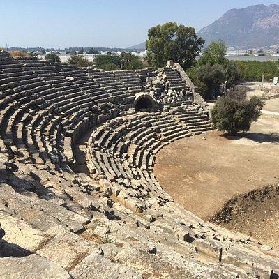 Античный театр Летоона
