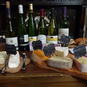 Selection from our cheese and wine evening