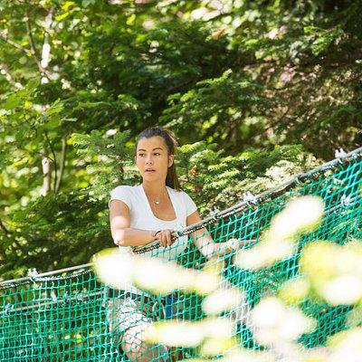 Crapahut Parc Aventure, loisirs en pleine nature. 8 Parcours pour les enfants et les grands.