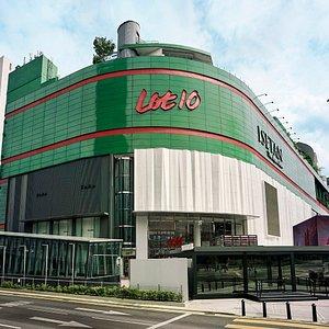 Facade of Lot 10 Shopping Centre