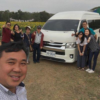 Trip Khao Yai Enjoy. Thank you  #With thoonbangkoktaxi