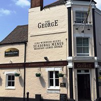 Outside The Brilliant George!