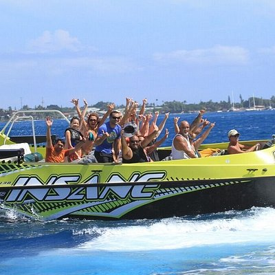 Party of Insane Jet Boat