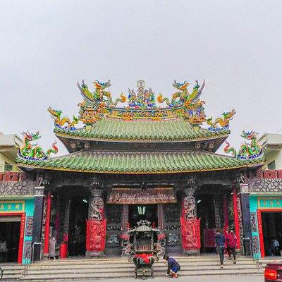 左営鳳邑旧城城隍廟