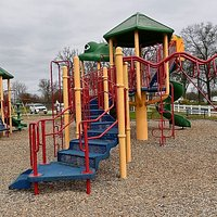 Play structures at the City Park