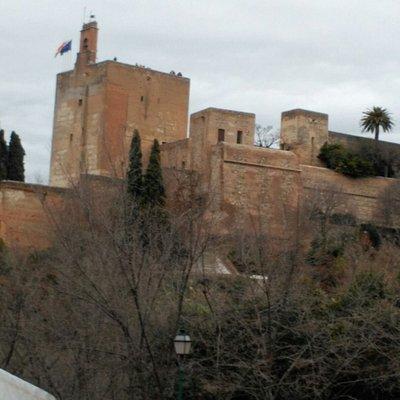 Vista Alcazábar desde Torres Bermejas