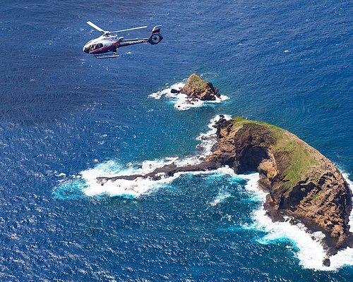 See the Elephant Rock off the coast of Molokai on this air tour