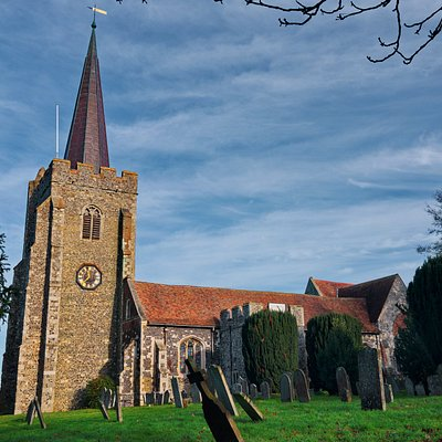 St Mary's Church in Wingham, Kent.