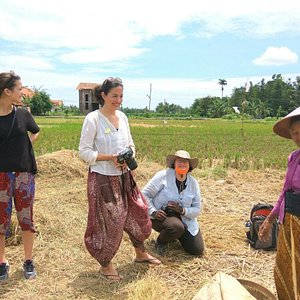 Get lost in a village and talk to farmers