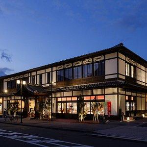 京都・時代祭館十二十二の外観