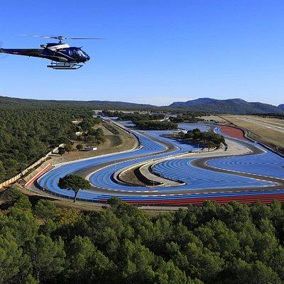Hélicoptère Circuit <Paul Ricard