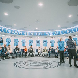 Visit the brand new Home Team Changing Room on our Stadium and Club Tour
