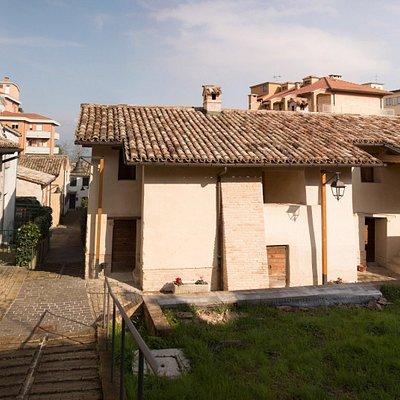 Il centro visite dell' Ecomuseo Villa Ficana