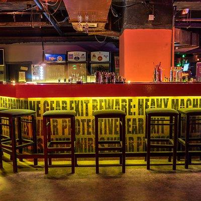 main bar when you walk in