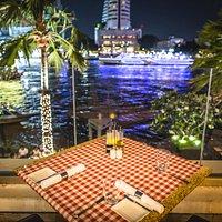 Giorgio's Restaurant with riverside view