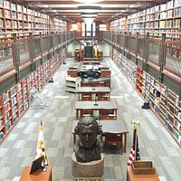 View of the SAR Genealogical Research Library.