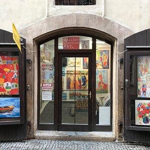 Gallery of modern art main door