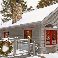 Winter at Dixie's Coffee House
