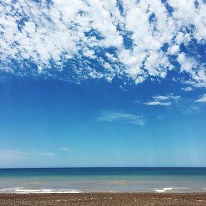Bahia Rosas - Espectacular playa sobre Ruta Provincial 1 de Río Negro