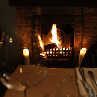 4 open log fires to cosy up next to